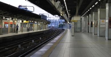 駅のホーム