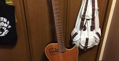 綺麗になったギター